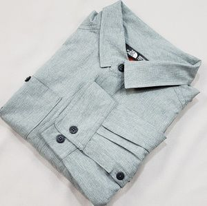 THE NORTH FACE long sleeve button shirt G09